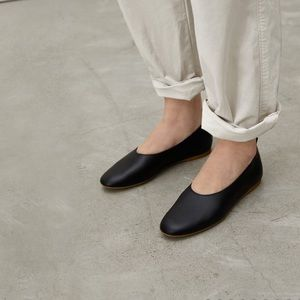 NEW Everlane- The Italian Leather Day Glove Flats